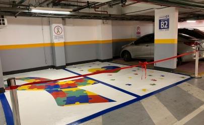 Goiânia ganha primeiro estacionamento exclusivo para autistas
