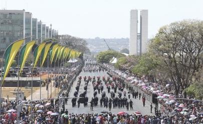 Desfile de 7 de Setembro terá participação de mais de 3 mil militares em Brasília
