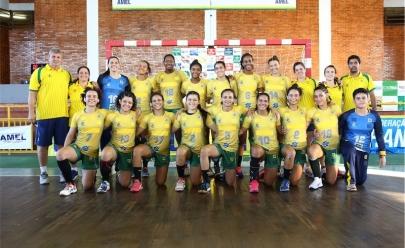 Seleção Brasileira de Handebol Júnior estreia hoje no Pan-Americano em Goiânia