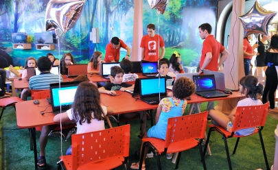Clubinho realiza oficina gratuita de youtubers para crianças em Goiânia