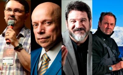 Leandro Karnal, Mário Sérgio Cortella, Amyr Klink e Rossandro Klinjey fazem palestra em Goiânia