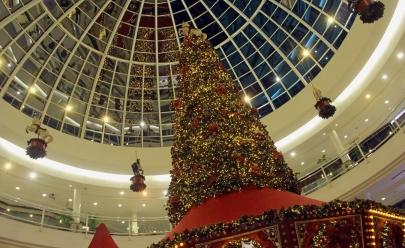 6 decorações de Natal em shoppings de Goiânia que valem a foto