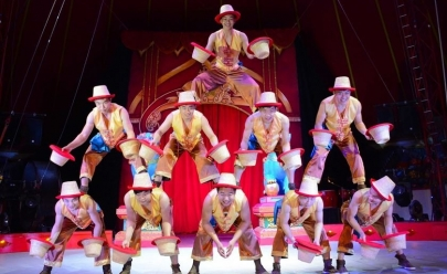 Circo Imperial da China volta a Goiânia em show no gelo