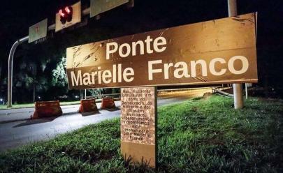 Ato em Brasília rebatiza ponte com o nome da vereadora Marielle Franco