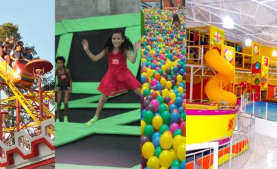 Lugares onde crianças para se divertirem em Goiânia