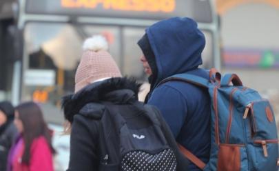 Frio chega pra valer e Uberaba registra 11ºC nesta manhã