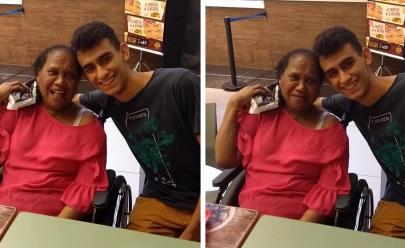 Cadeirante é mal entendida em loja de Goiânia e jovem toma atitude surpreendente
