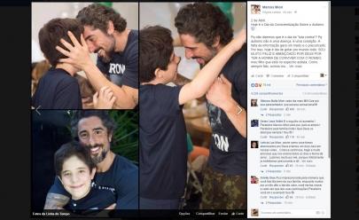 Marcos Mion escreve texto emocionante sobre o filho autista no Dia da Conscientização Sobre o Autismo