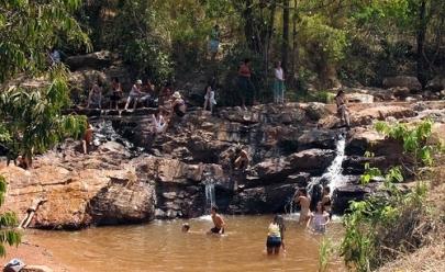 Dentro de Brasília, a Cachoeira do Urubu é um refúgio para os que buscam uma pausa na rotina