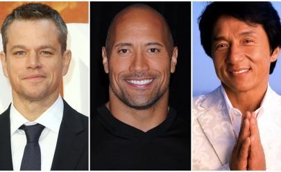 Lista dos atores mais bem pagos do mundo bate R$ 207 milhões