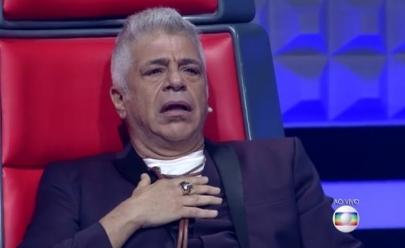 Lulu Santos se nega a abraçar cantora que errou letra de música no 'The Voice Brasil'