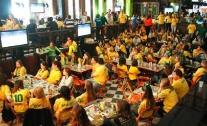 Os melhores lugares para assistir os jogos do Brasil na Copa em Goiânia