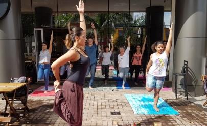 Domingo do Dia das Mães tem Meditação Guiada e Yoga de graça em Goiânia