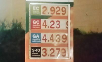 Posto em Goiânia decide ir contra alinhamento de preço e vende combustível mais barato