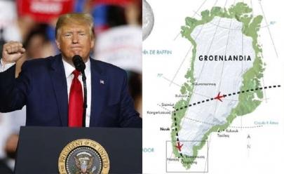 Trump quer comprar a maior ilha do mundo e porta-voz rebate 'ele enlouqueceu'