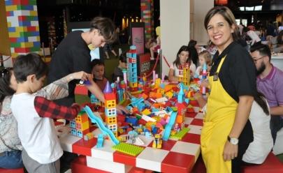 Festival Lego tem estações de desafios para as crianças e entrada gratuita em Brasília