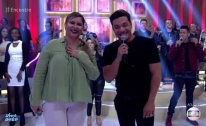 O encontro de Marília Mendonça e Wesley Safadão no programa da Fátima deu o que falar na web