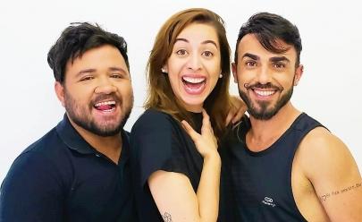 Grupo de humor 'Os Inoxidáveis' se apresenta no Teatro Goiânia