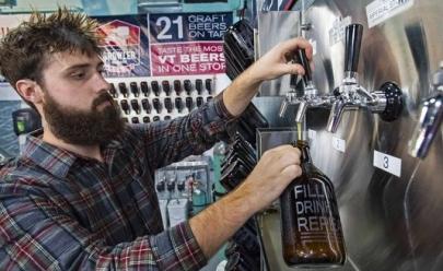 Goiânia ganha primeiro Growler Station com cerveja artesanal a granel