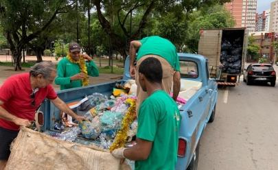 Comurg recolheu mais de cinco toneladas de lixo durante o Carnaval em Goiânia