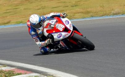 Corrida de moto marca reinauguração da pista do Autódromo em Goiânia