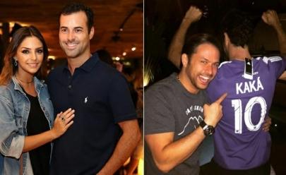 Namorado de Carol Celico ganha camiseta de Kaká em inimigo secreto