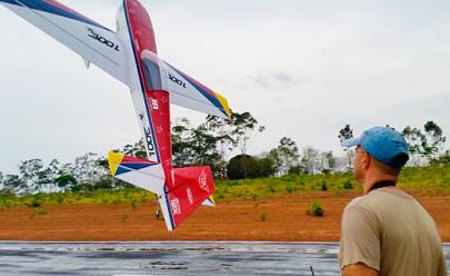 Maior pista de aeromodelismo de Goiás fica aqui pertinho de Goiânia