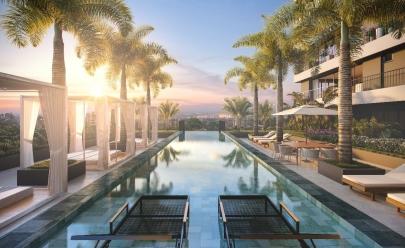 Goiânia recebe primeiro prédio com piscina panorâmica na fachada