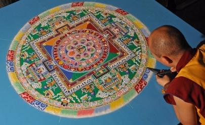 Goiânia recebe retiro de desenho e pintura de Mandalas Tibetanas