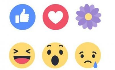 Internautas comemoram a volta da florzinha de gratidão do Facebook