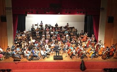 Orquestra e Coro Sinfônicos espetáculo gratuito inédito Musique de France em Goiânia