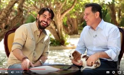 Governador Marconi Perillo estreia 'Quem é Você?', novo quadro da TV Curta Mais