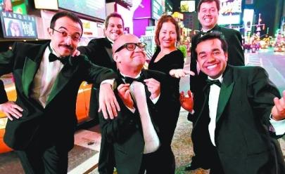 Grupo de comédia se apresenta em Brasília