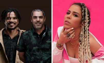 Natiruts e Flora Matos fazem show em Brasília