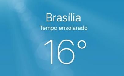 Brasília tem o dia mais frio do ano