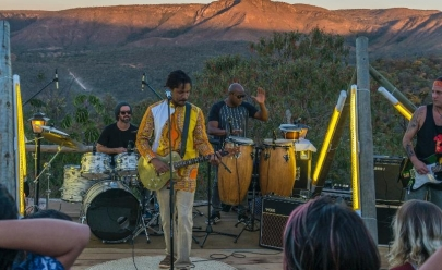 Natiruts faz show no Parque da Cidade, em Brasília