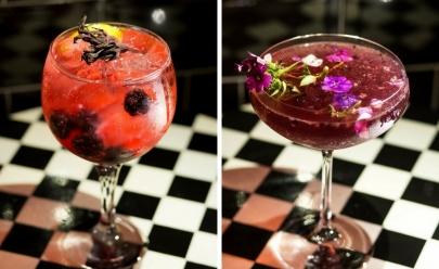 Bares e restaurantes de Brasília apostam em drinques com decoração cuidadosa e detalhada