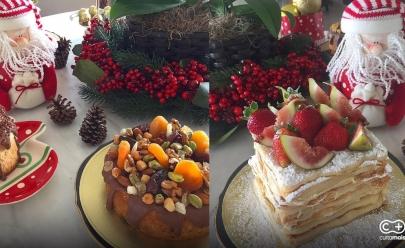 Confeitaria Sablé Patisserie oferece noite de degustação com menu especial de Natal nesta terça-feira em Goiânia