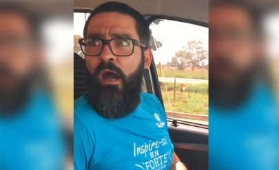 Homem leva susto ao saber que vai ser pai e vídeo viraliza na web