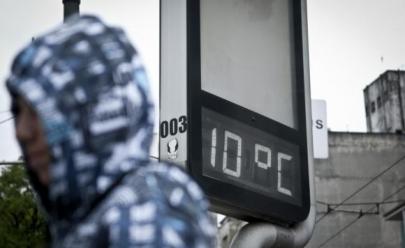 Belo Horizonte registra madrugada mais fria do ano com sensação térmica que chega a 2º C
