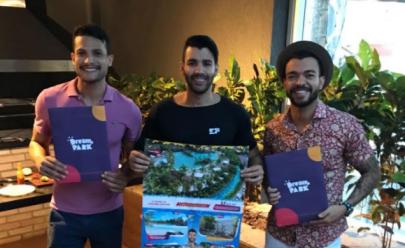 Gusttavo Lima surpreende Israel Novaes e Thiago Brava com um presente inusitado