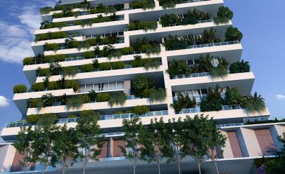 Goiânia ganha primeiro prédio com (incrível) jardim vertical na fachada
