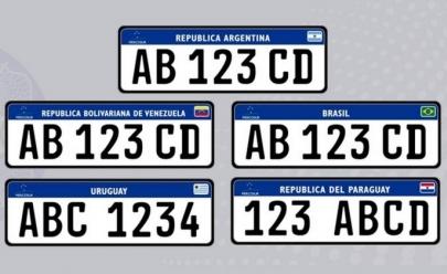 Placas de carros brasileiros serão alteradas a partir de setembro