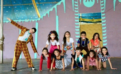 Alunos do Circo Laheto apresentam o espetáculo 'Diversidades e Similaridades'