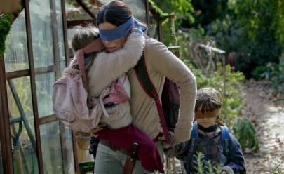 Igreja realiza culto inspirado no filme Birdbox em Goiânia