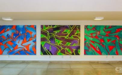 Goiânia recebe exposição de grafite com entrada gratuita