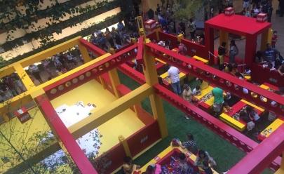 LEGO promove evento para toda família no Conjunto Nacional em Brasília