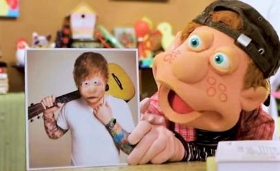 Júlio, do Cocoricó, desabafa em vídeo sobre boatos de que é o Ed Sheeran 'Isso é Bullying'