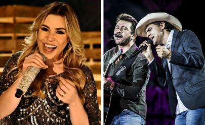 Naiara Azevedo e Jads & Jadson fazem show na Pecuária de Goiânia 2018
