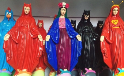 Venda de santos pop é liberada pela justiça